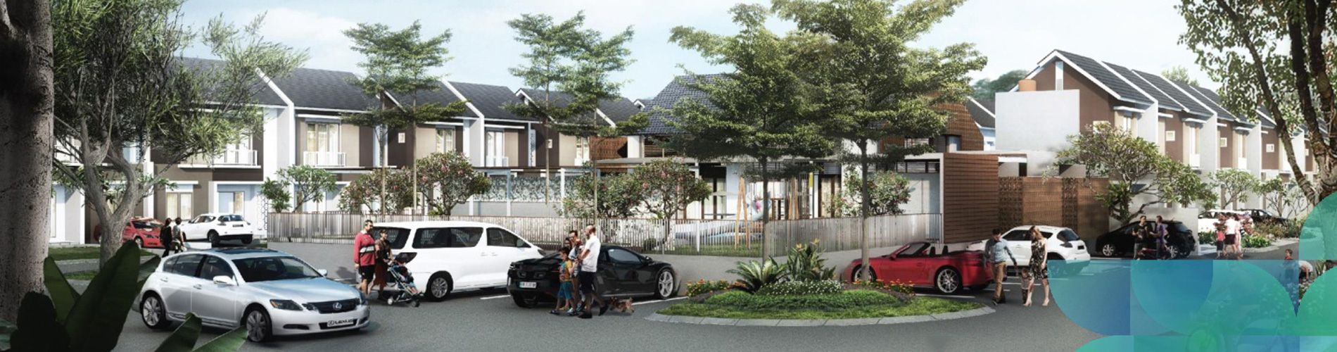 Residensial Cluster Chelsea & Cherry at Summarecon Bandung di Bandung