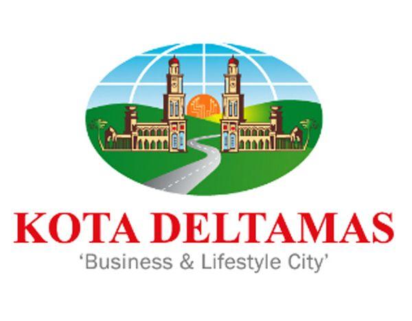 Logo Kota Deltamas, Kawasan Mandiri Bertaraf Internasional untuk Dihuni dan Berinvestasi