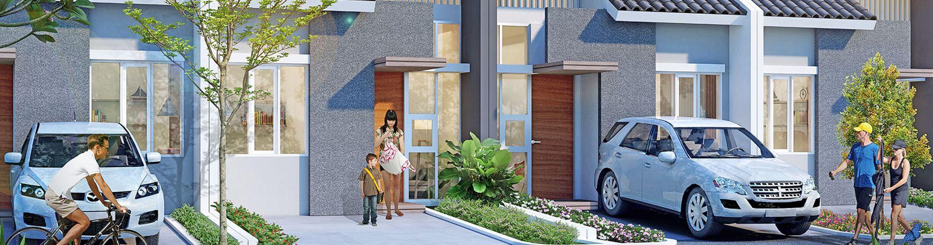 Residensial + Komersial Garden Ville di Bekasi