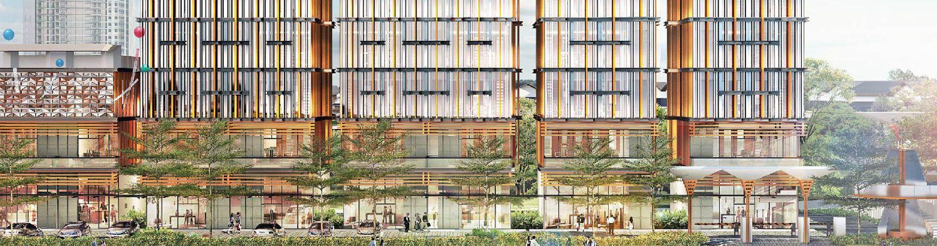 Komersial Ginza Business Loft di Bekasi