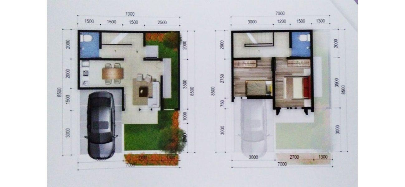 Grand Cipendawa Residence Tipe 2 Lt