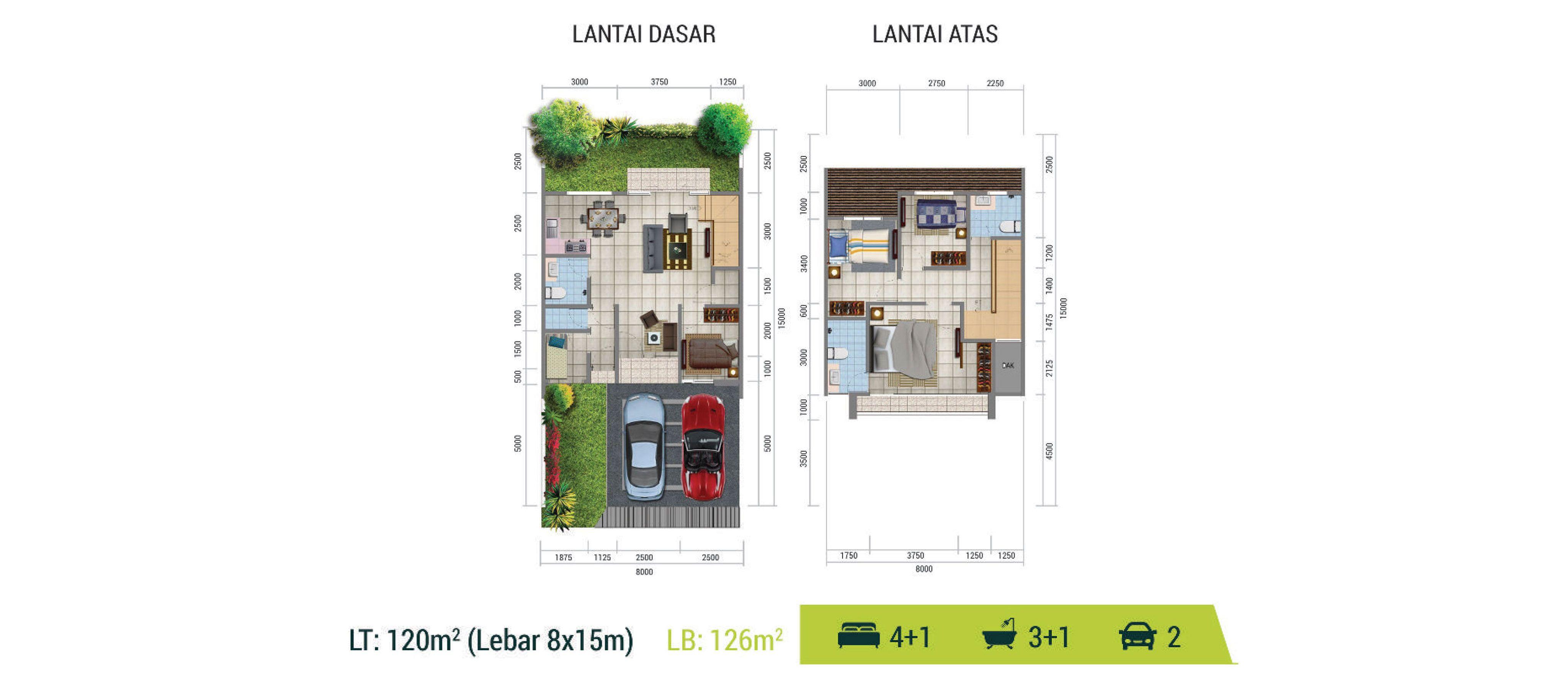 Residensial Golden Stone Tipe Alexandrite di Tangerang