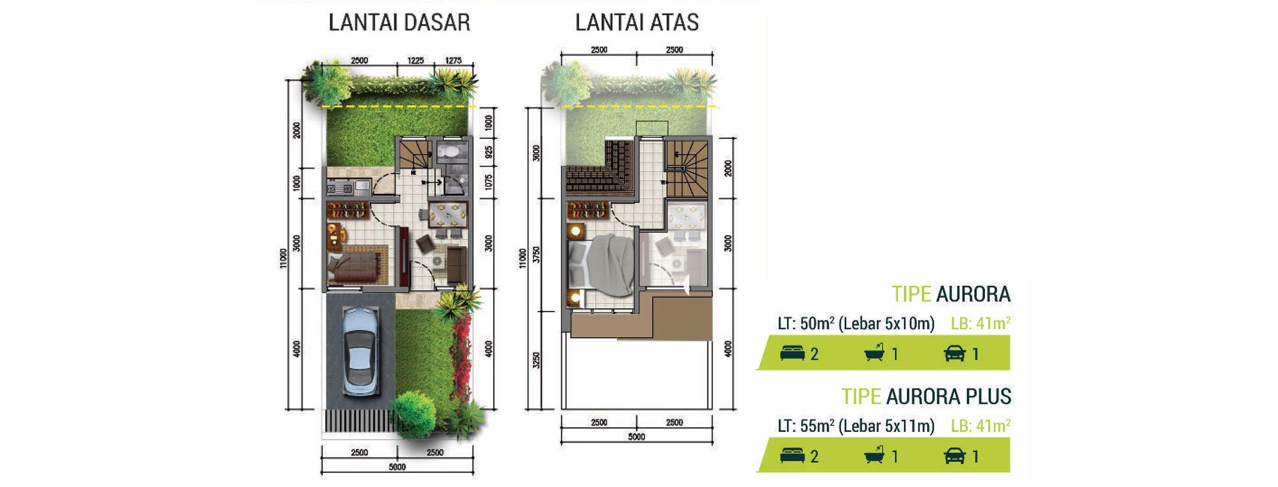 Residensial Golden Stone Tipe Aurora di Tangerang