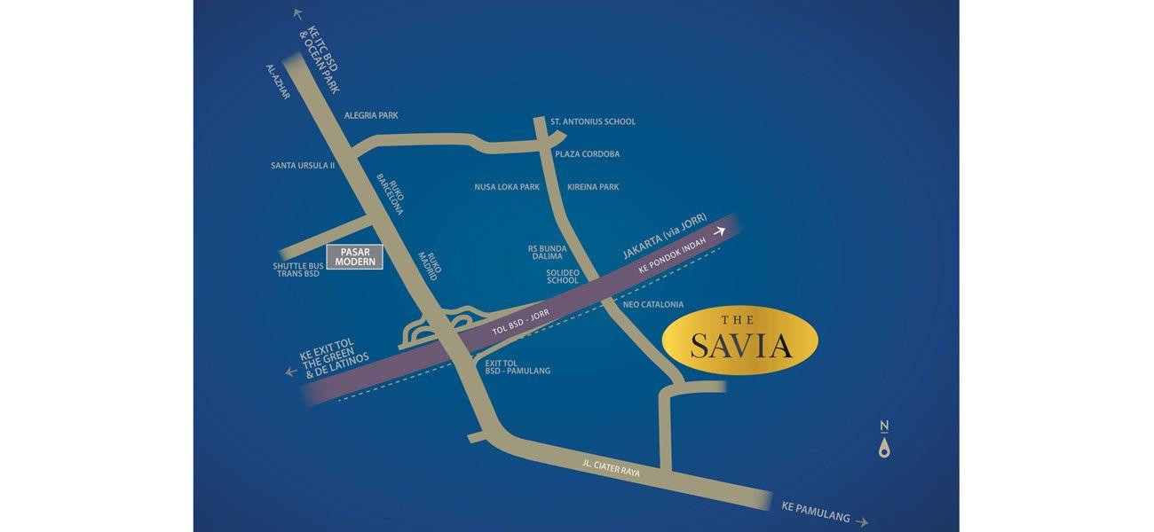 Residensial BSD City - Visana at The Savia di Tangerang Selatan