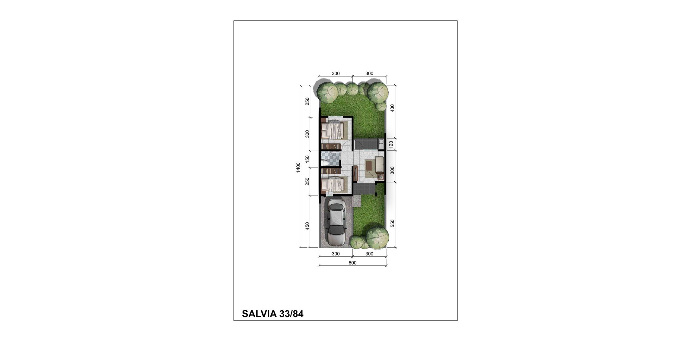 Citra Indah Cluster Bukit Salvia Tipe 33
