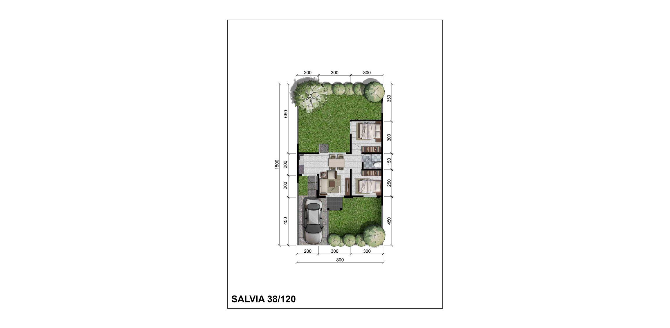 Citra Indah Cluster Bukit Salvia Tipe 38