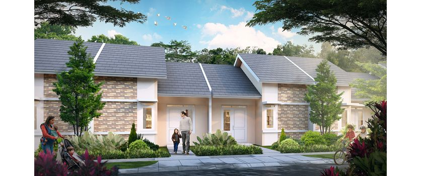 Residensial + Komersial Citra Indah City di Bogor