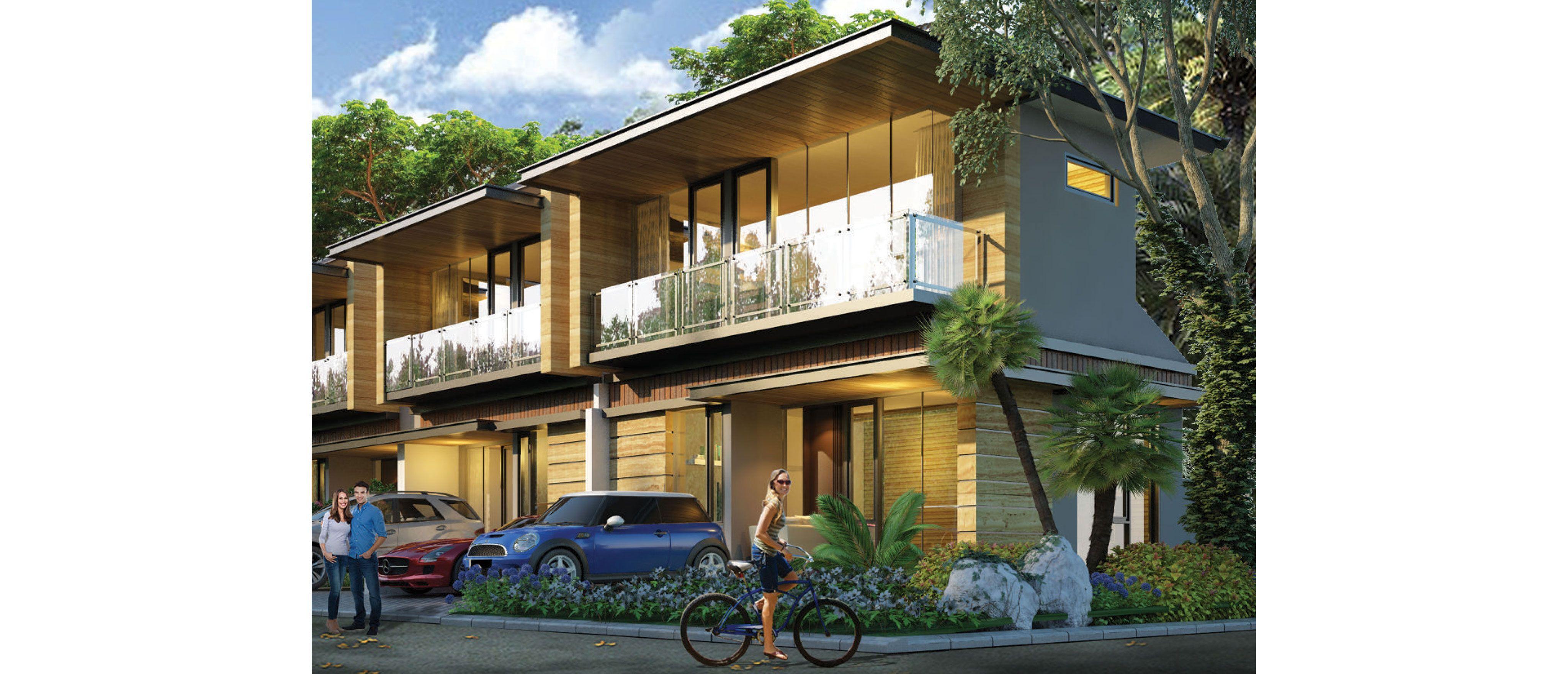 Residensial Golden Stone Tipe Aquamarine di Tangerang