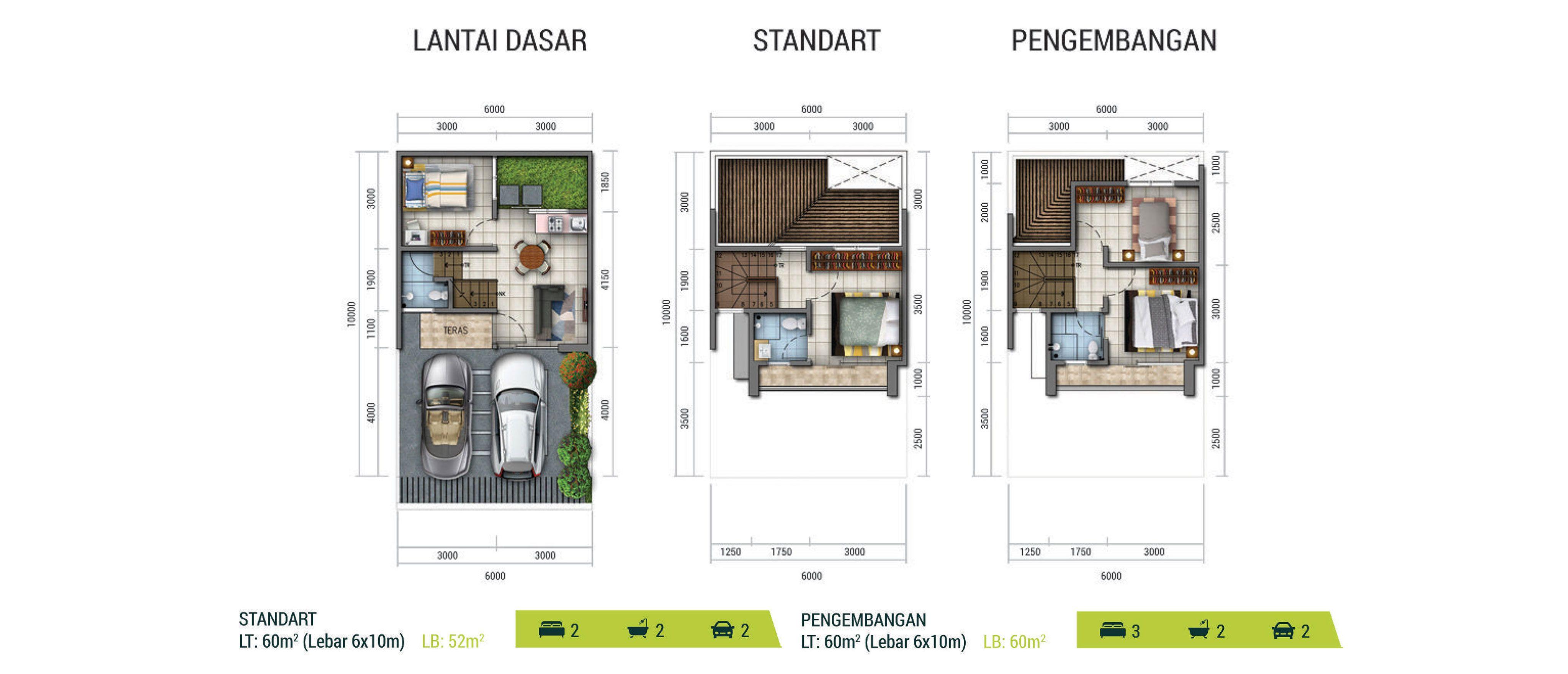 Residensial Golden Stone Tipe New Amethyst di Tangerang