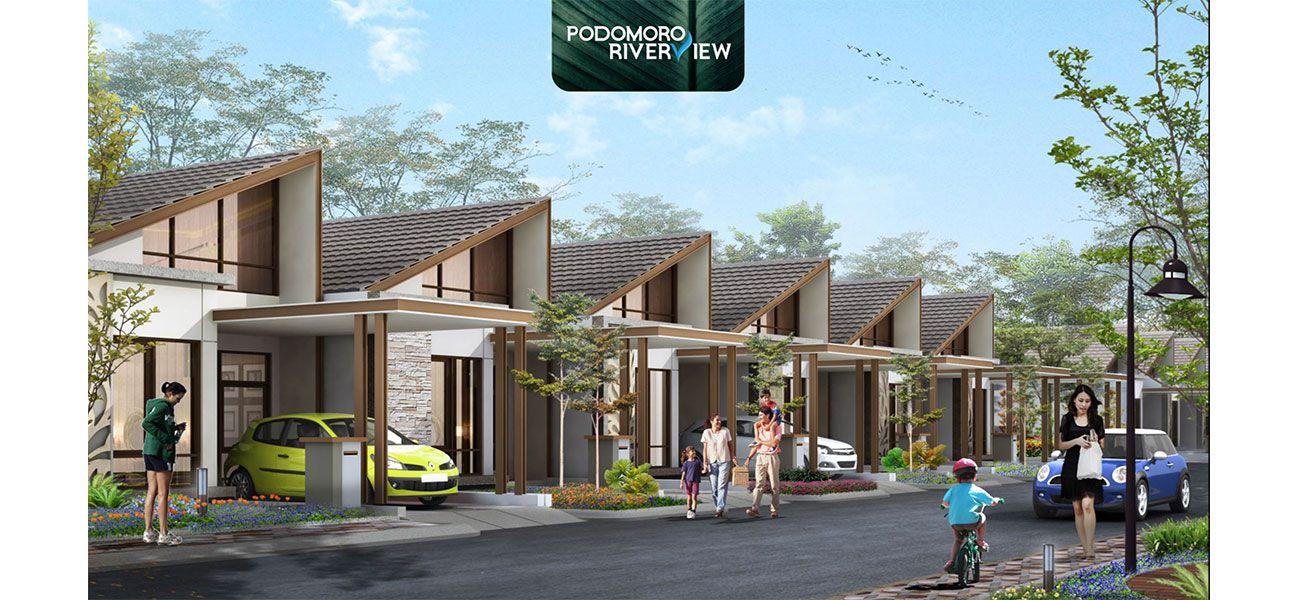 Residensial Podomoro River View di Depok
