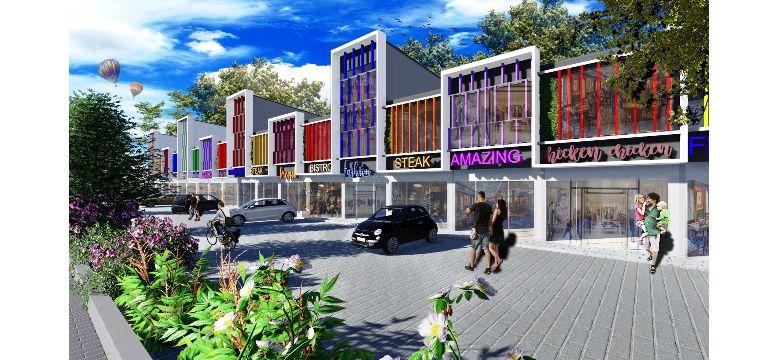 Residensial & Komersial Green Golf City di Tangerang