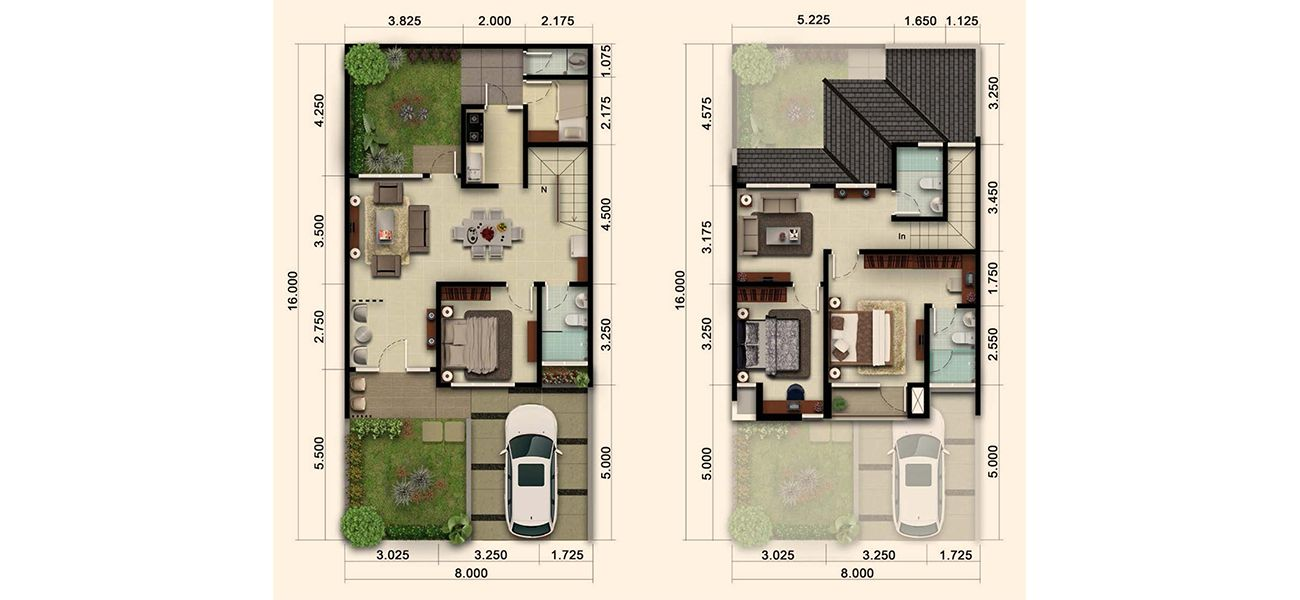 Residensial & Komersial Cluster Nashville Tipe 137 di Bogor