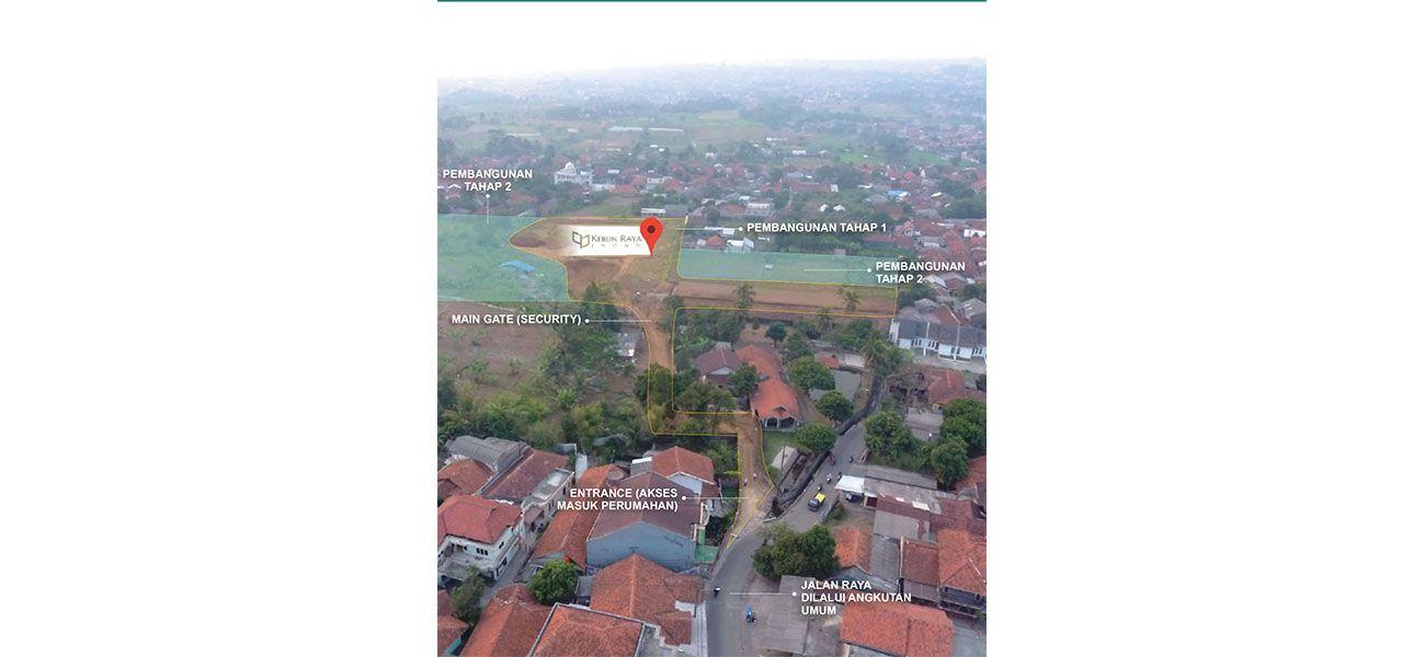 Residensial Kebun Raya Indah di Bogor