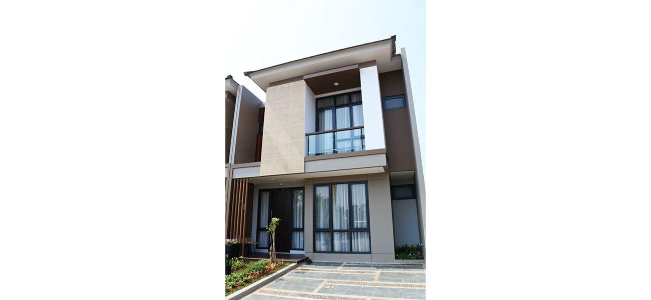 Residensial Nashville at Kota Wisata Cibubur Tipe 129 di Bogor