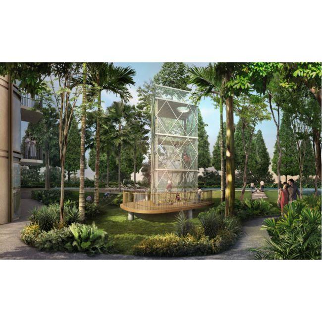 Residensial The Lana Apartemen di Tangerang Selatan