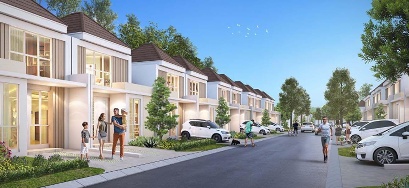 Residensial Paramount Petals di Tangerang