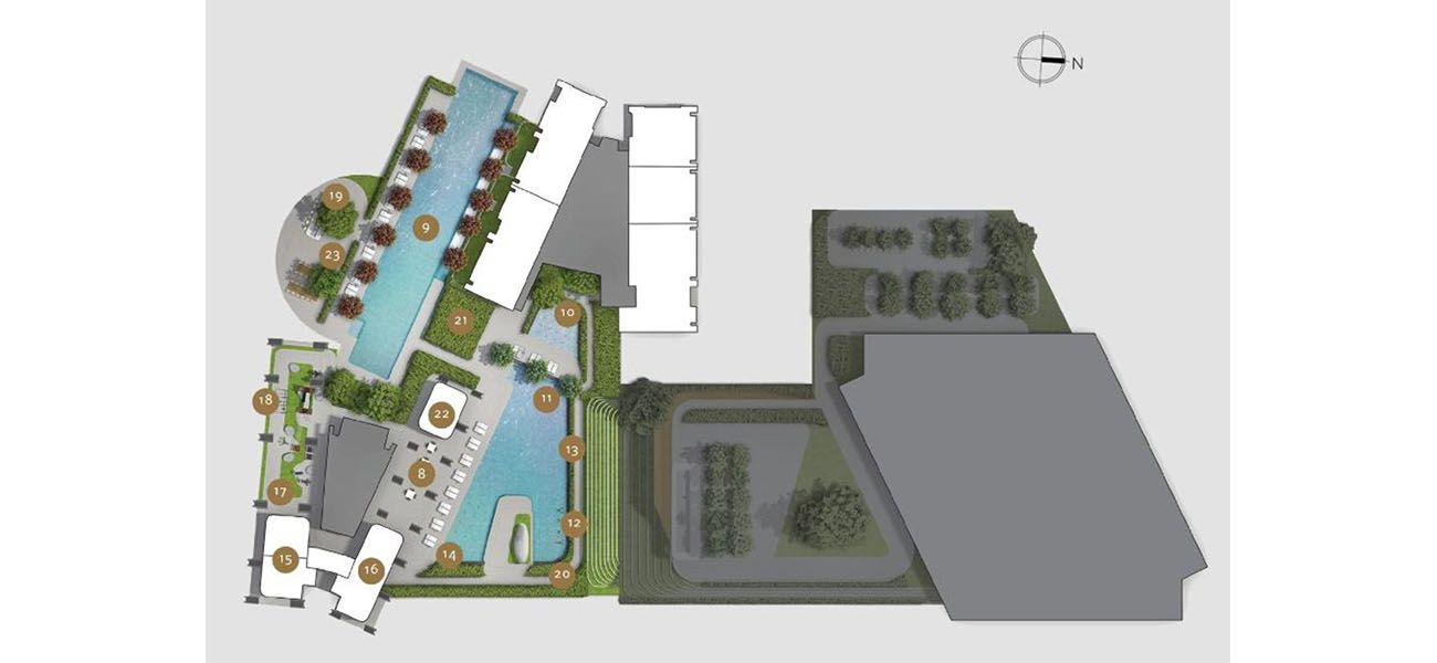 Residensial & Komersial Avania di Jakarta Selatan