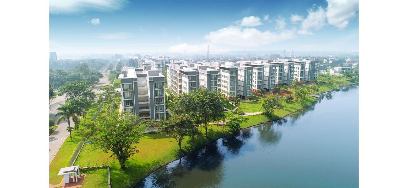 Residensial Rainbow Springs CondoVillas Tipe 119 di Tangerang