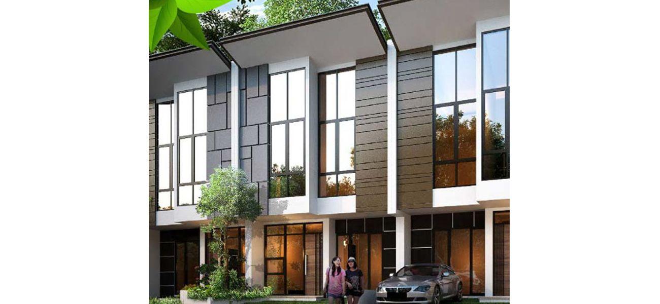 Residensial & Komersial Galuh Mas Karawang Cluster Neu River Garden di Karawang
