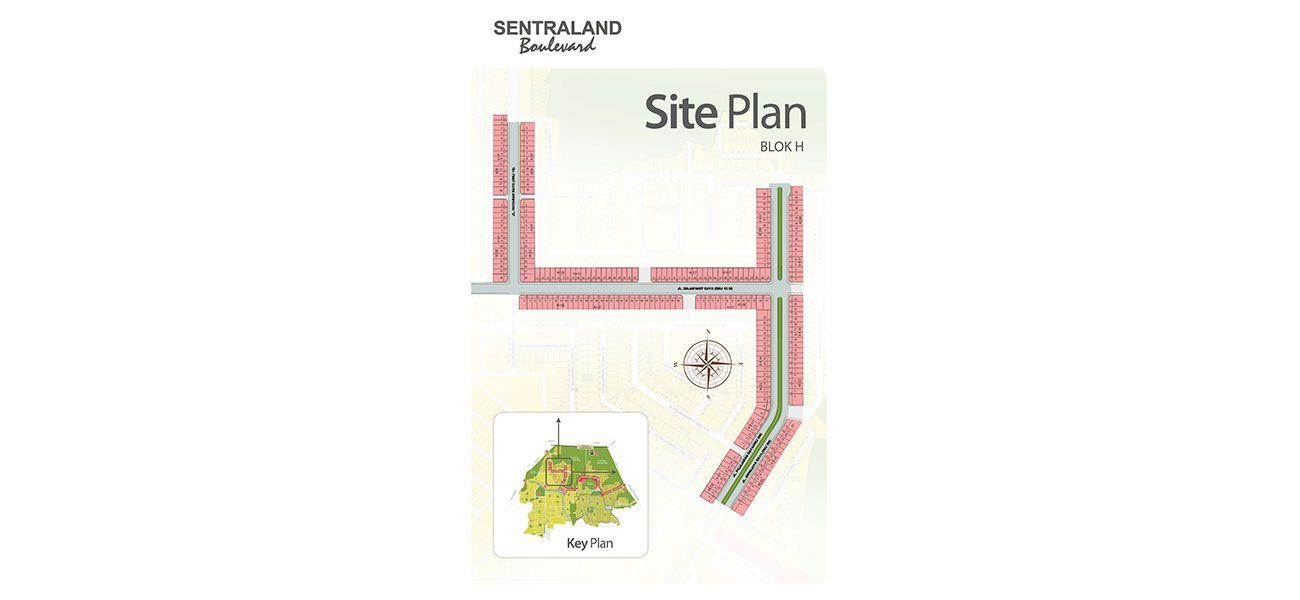 Residensial Sentraland Boulevard di Bogor