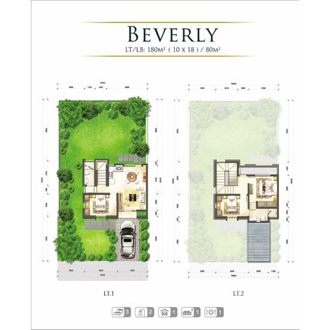 Residensial GKIC - Grand Victorian Kawanua 2 Tipe Beverly di Manado