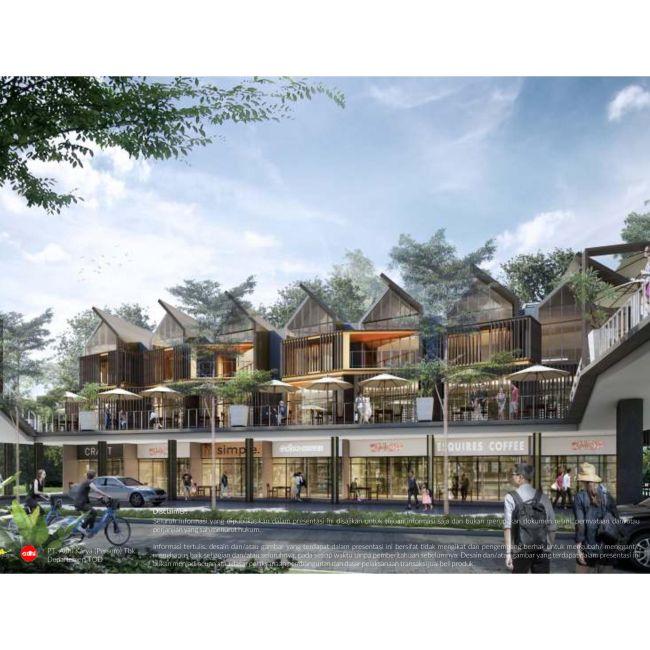 Residensial Ruko Royal Sentul Park Tipe Blok B (Baswara) di Bogor