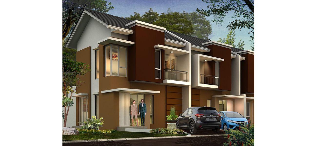 Residensial Kota Sutera - Cluster Blossomville Tipe 91 di Tangerang
