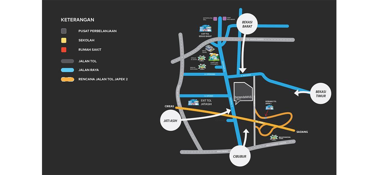 Residensial Beranda MAS di Bekasi