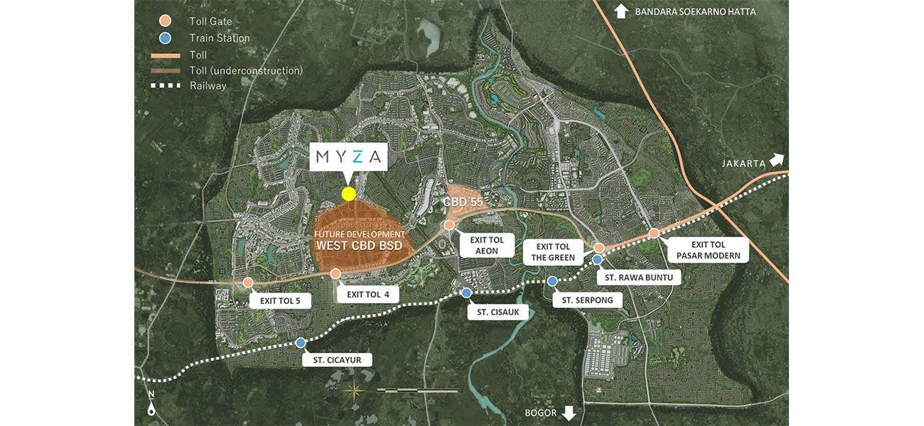 Residensial BSD City - Myza di Tangerang
