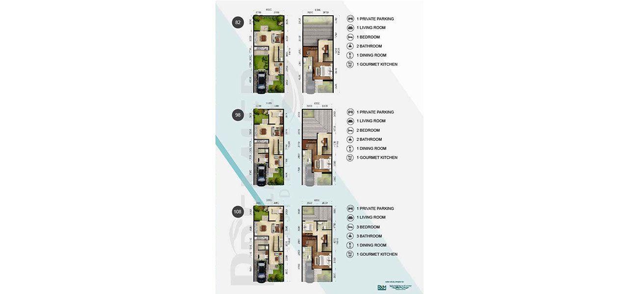 Residensial RKM Tanjung Bunga - Premier Residence Tipe Pristine di Makassar