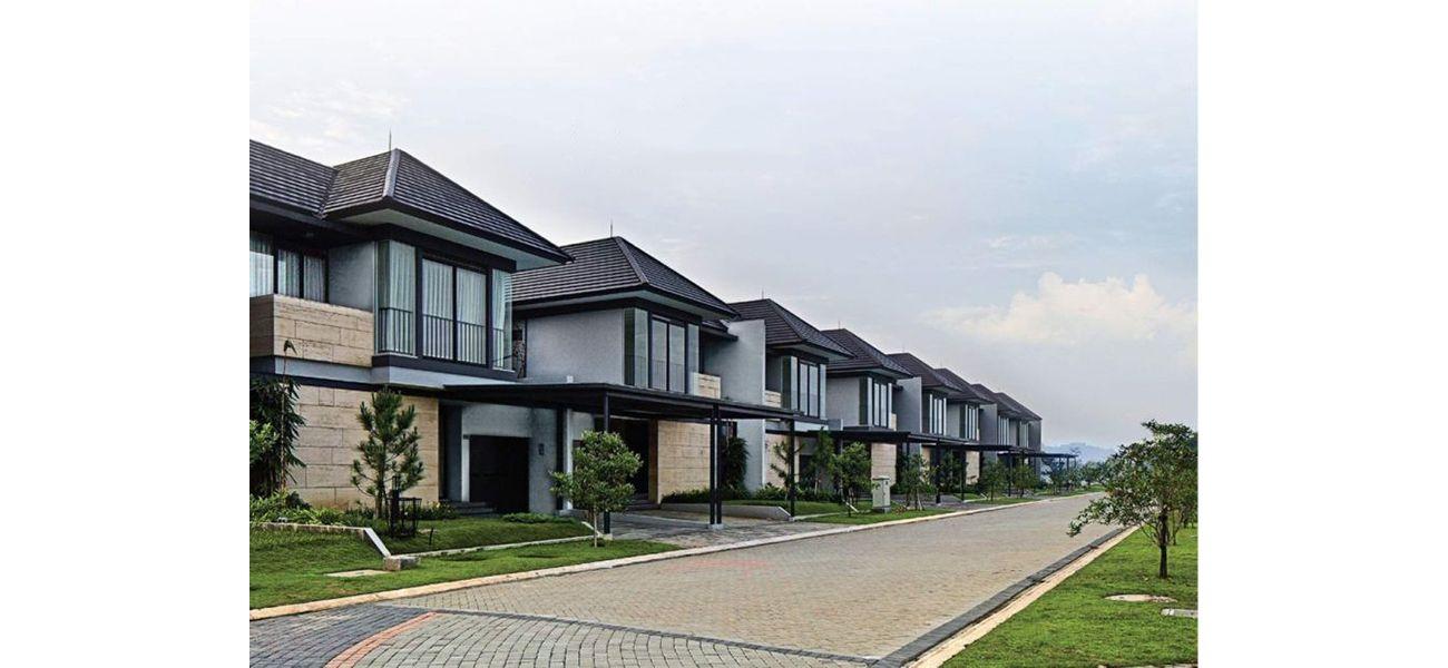 Residensial Cluster Tatar Subanglarang at Kota Baru Parahyangan di Bandung