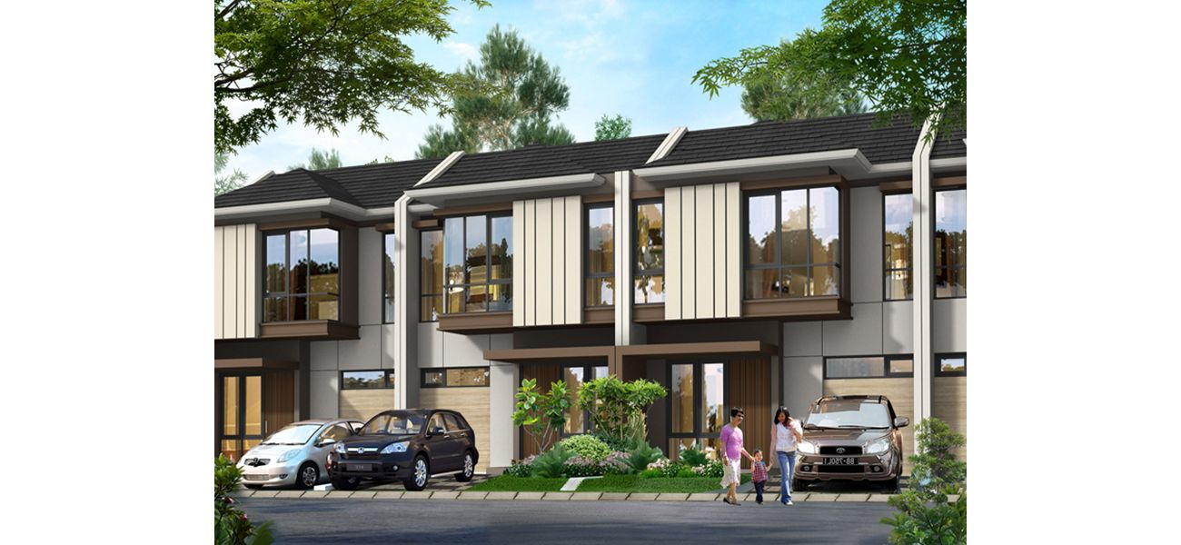 Residensial New Visalia at Kota Wisata Cibubur di Bogor