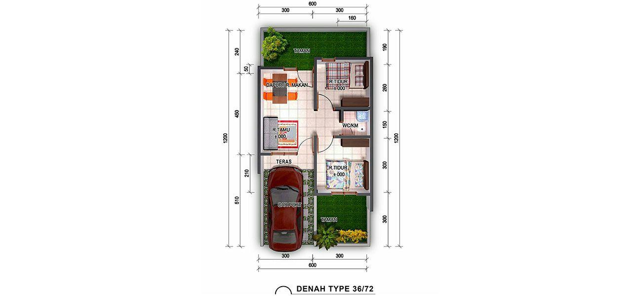 Residensial Casavera Dramaga Residence Tipe Magnolia di Bogor