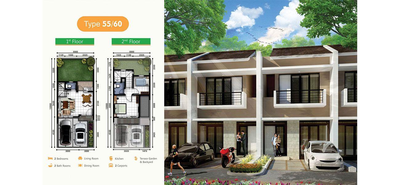 Residensial Serpong Natura City Cluster Natura Fidelia di Bogor