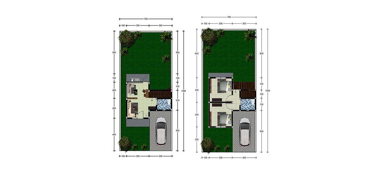 Residensial Favora Residence Malalayang Tipe 56 di Manado