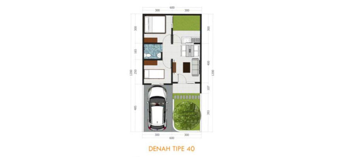 Residensial & Komersial Margahurip Banjaran Tipe 40/72  di Bandung