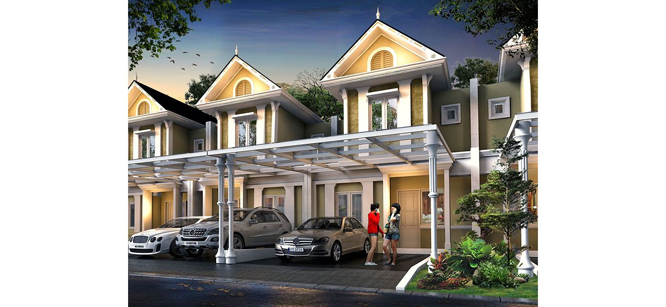 Residensial Cluster Thames at Jakarta Garden City Tipe L6 A di Jakarta Timur