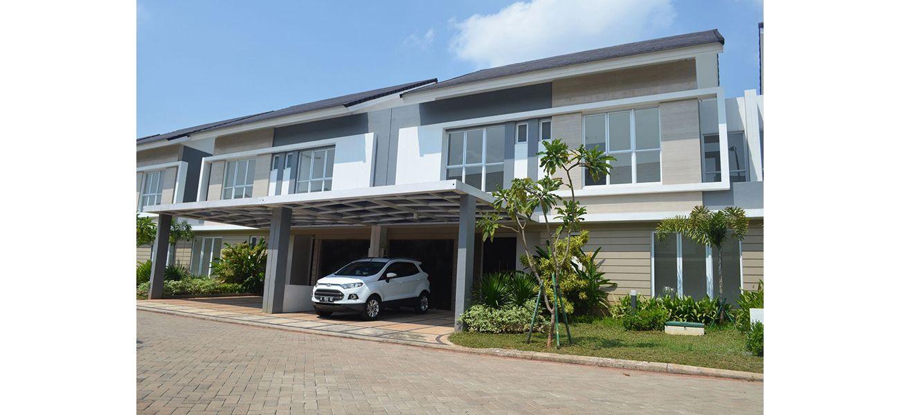 Residensial Palm Spring at Jakarta Garden City di Jakarta Timur