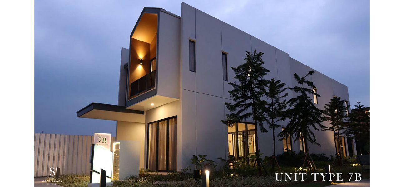 Residensial Sanctuary Cluster Tanglin Parc Tipe 7B di Bogor