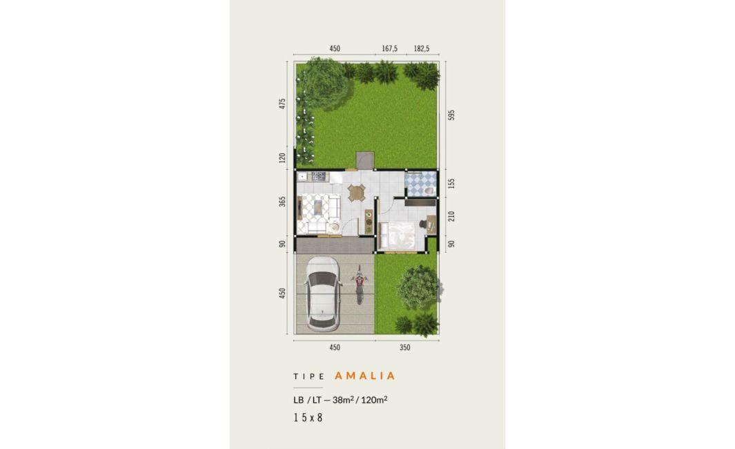 Residensial CitraLand Manado - Zuiden Amsterdam Tipe Amalia di Manado