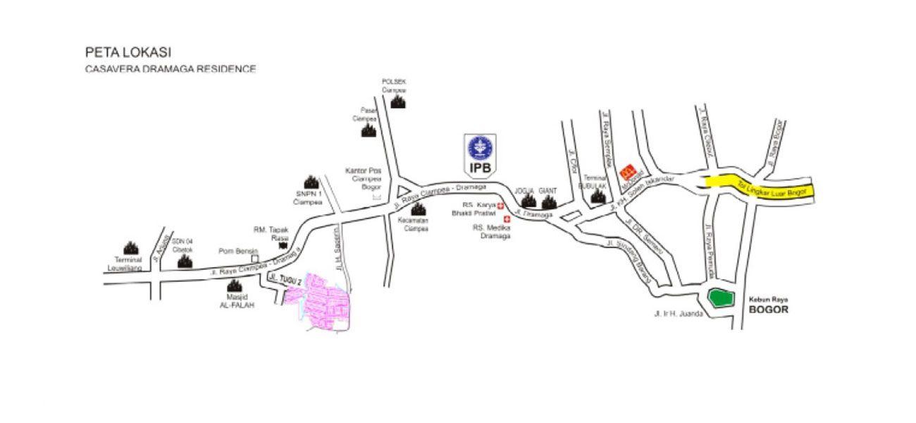 Residensial Casavera Dramaga Residence di Bogor