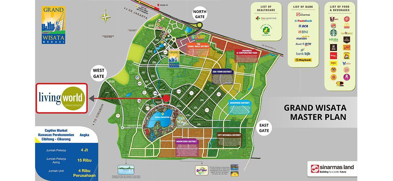 Residensial Grand Wisata Cluster Garden Hous di Bekasi