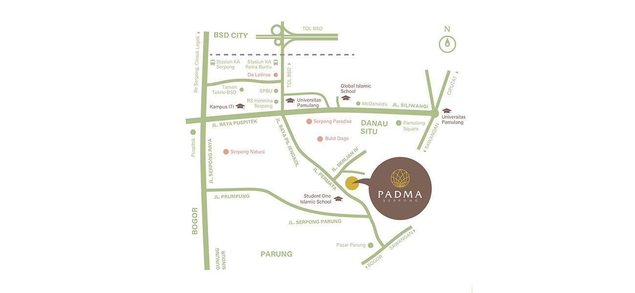 Residensial Padma Serpong di Bogor