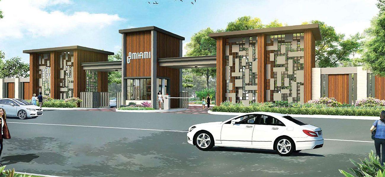 Residensial & Komersial Cluster Miami Tipe 9  di Bogor
