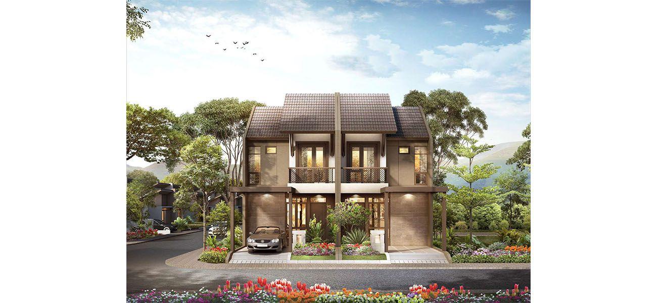 Residensial & Komersial Cluster Padmagriya Tipe Akasha 5,5 di Bandung