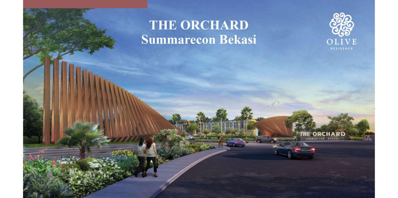 Residensial Cluster Olive Residence at Summarecon Bekasi di Bekasi