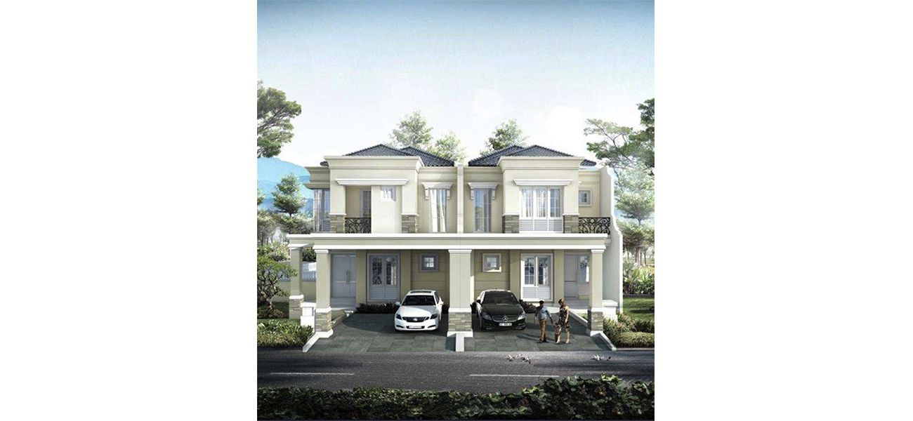 Residensial & Komersial Cluster Anapuri Tipe 8x20 di Bandung