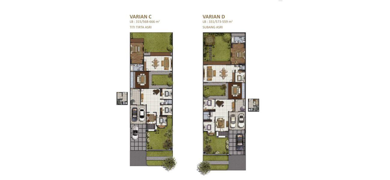 Residensial Koridor Bandoeng Tempo Doeloe Tipe Titi & Subang Asri di Bandung