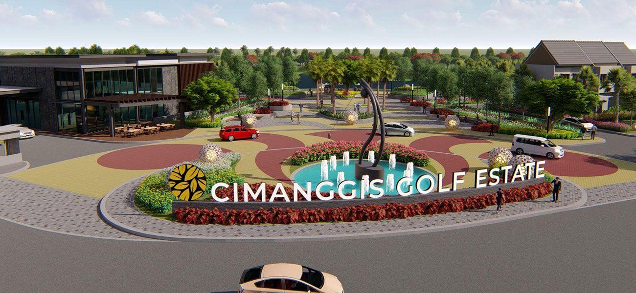 Residensial Cimanggis Golf Estate di Depok