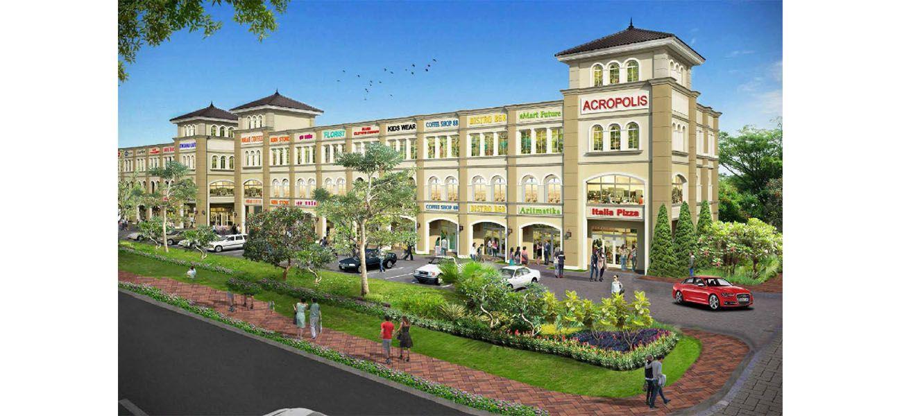 Residensial & Komersial GKIC – Ruko Grand Victorian 3 di Manado